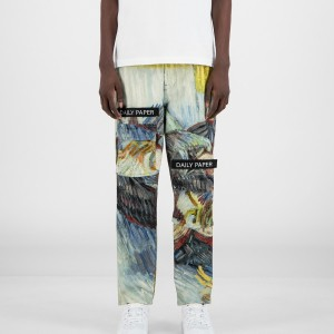 Daily Paper x Van Gogh Museum® Blue Cabbages Van Cargo Pants