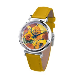 Van Gogh Swiss Watches® horloge met diamantje (36mm)