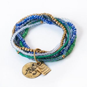 Van Gogh A Beautiful Story® Armband Irissen 7-strings