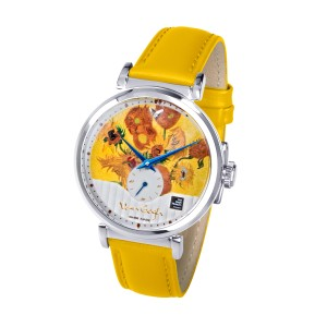 Van Gogh Swiss Watches® dames horloge met diamantje