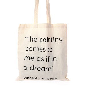 Canvas tas Quote