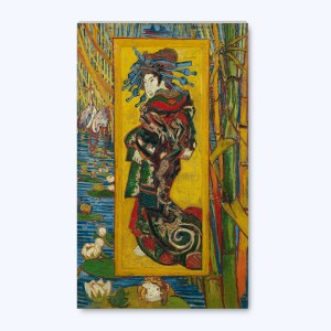 Van Gogh Canvas S Courtisane