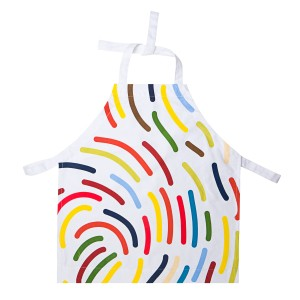 Van Gogh Apron footprint for kids