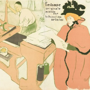 The Lithography, Cover for the album L'Estampe originale (album I)