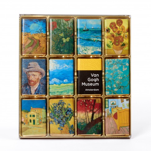 Van Gogh chocolate highlights