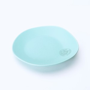 The Harvest plate blue