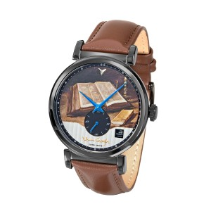 Van Gogh Swiss Watches® heren horloge met diamantje